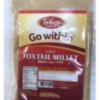 Telugu Pearled Foxtail Millet Unpolished - 2 Lb (907 Gm) - 1 unit