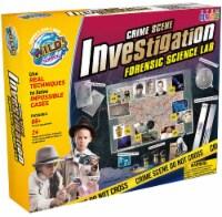 WILD! Science Crime Scene Investigation Forensic Science Lab Kit