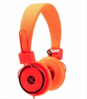 Moki Headphones - Hyper Orange