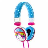 Moki Popper Unicorn Soft Headphones