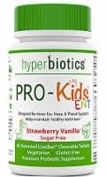 Hyperbiotics PRO-Kids® ENT Chilldren's Strawberry Vanilla Oral Probiotics Chewable Tablets