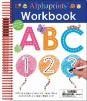 Alphaprints Wipe Clean Workbook by Priddy