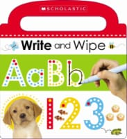 Write and Wipe ABC 123 Board Book by Scholastic