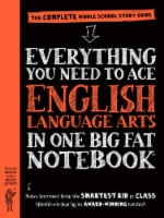 Everything You Need To Ace English Language Arts In One Big Fat Notebook by Elizabeth Irwin - 1 ct