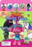 Trolls Party Time Pencil Toppers and Activity Book by DreamWorks Trolls