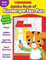 Jumbo Book of Kindergarten Fun Workbook by Scholastic - 1 ct