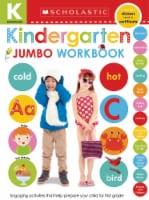 Kindergarten Jumbo Workbook by Scholastic