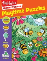 Hidden Pictures Playtime Puzzles Activity Book by Highlights