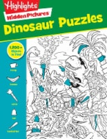 Hidden Pictures Dinosaur Puzzles by Highlights