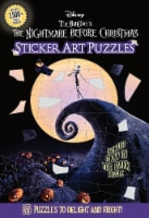 The Nightmare Before Christmas Sticker Art Puzzles Book by Disney - 1 ct