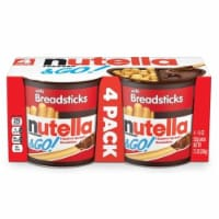 Nutella and Go Hazelnut Spread, 7.3 Ounce - 4 per pack -- 6 packs per case.
