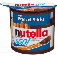 Nutella Original Hazelnut Spread Plus Pretzels, 1.9 Ounce -- 24 per case.