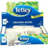 Tetley Original Blend Tea - 100 tea bags per box, 10 boxes per case