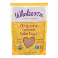 Wholesome Sweeteners Sugar - Organic - Coconut Palm - 16 oz - case of 6 - 16 OZ