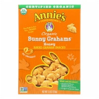 Annie'S Homegrown Bunny Grahams Honey - Case Of 12 - 7.5 Oz