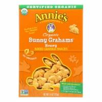 Annie'S Homegrown Bunny Grahams Honey - Case Of 12 - 7.5 Oz - Case of 12 - 7.5 OZ each