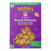 Annie'S Homegrown Bunny Grahams Chocolate Chip - Case Of 12 - 7.5 Oz