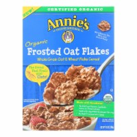 Annie's Homegrown Organic Frosted Oat Flakes Cereal - Case of 10 - 10.8 oz. - 10.8 OZ