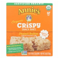 Annie's Homegrown Organic Peanut Butter Crispy Snack Bars