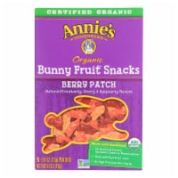 Annie'S Homegrown Fruit Snack Berry Patch - Case Of 10 - 4 Oz