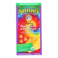 Annies Homegrown Macaroni and Cheese - Organic - Peace Pasta and Parmesan - 6 oz - case of 12 - 6 OZ