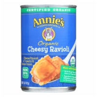 Annie's Homegrown Organic Cheesy Ravioli In Tomato and Cheese Sauce - Case of 12 - 15 oz. - 15 OZ