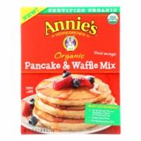 Make Annie's Organic Pancake & Waffle Mix And  - Case of 8 - 26 OZ - 26 OZ