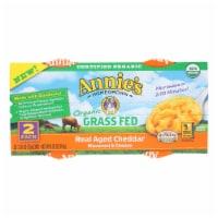 Annies Macaroni Cheesee Cup - Organic - Gluten Free - Micro - Case of 6 - 4.02 oz - 4.02 OZ