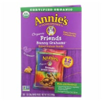 Annie's Homegrown Snack Pack - Organic - Bunny Grahms - Frd - 12 - Case of 4 - 12/1 oz