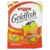Pepperidge Farm Cheddar Goldfish - 1.5 oz. single serve bag, 72 per case - 72-1.5 OUNCE