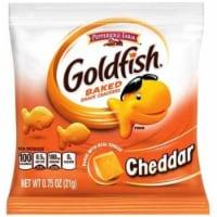 Pepperidge Farm Cheddar Goldfish - 0.75 oz. bag, 300 per case - 300-.75 OUNCE