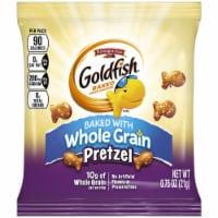 Pepperidge Farm Pretzel Goldfish - 0.75 oz. bag, 300 per case - 300-.75 OUNCE