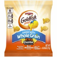 Goldfish Baked with Whole Grain Xtra Cheddar Crackers, 0.75 Ounce -- 300 per case. - 300-.75 OUNCE