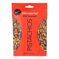 Wonderful Pistachios - Pistachios Chili No Shell - Case of 10 - 5.5 OZ - 5.5 OZ