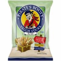 Pirate's Booty Fruit Sticks Veggie Sticks Sea Salt, 12oz (Pack of 12)