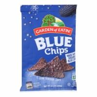Garden of Eatin' Blue Corn Tortilla Chips - Tortilla Chips - Case of 12 - 8.1 oz. - 8.1 OZ