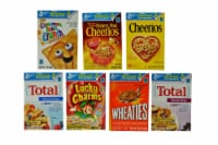 General Mills Assorted Favourites Cereal -- 70 per case. - 70-.85 OUNCE