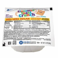 General Mills Reduced Sugar Cinnamon Toast Crunch Cereal, 1 Ounce -- 96 per case.