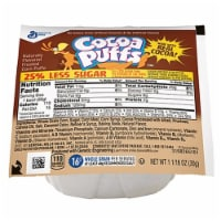 Cocoa Puffs Reduced Sugar Cereal 1.06 Ounce -- 96 per case