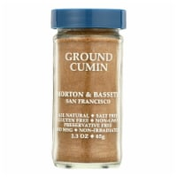Morton and Bassett Seasoning - Cumin - Ground - 2.3 oz - Case of 3