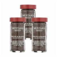 Morton and Bassett Seasoning - Mustard Seed - Brown - 2.7 oz - Case of 3 - 2.7 OZ
