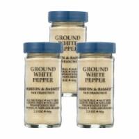 Morton and Bassett Seasoning - Pepper - Ground - White - 2.3 oz - Case of 3 - 2.3 OZ