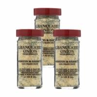 Morton and Bassett Seasoning - Onion with Parsley - Granulated - 2.3 oz - Case of 3 - 2.3 OZ