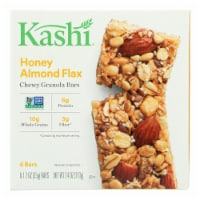 Kashi Honey Almond Flax Granola Bars  - Case of 8 - 6/1.2 OZ - 6/1.2 OZ