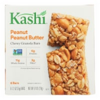 Kashi Peanut Peanut Butter Granola Bars  - Case of 8 - 6/1.2 OZ - 6/1.2 OZ