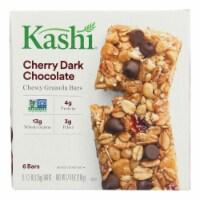 Kashi Cherry Dark Chocolate Granola Bars  - Case of 8 - 6/1.2 OZ - 6/1.2 OZ
