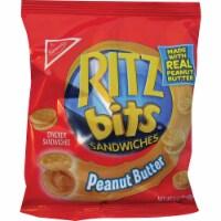Ritz Bits Sandwiches Peanut Butter - 1.5 oz. bag, 60 per case - 300-2 COUNT