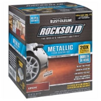 RockSolid Polycuramine Metallic Flr Coating Copper Pot 70oz Kit (2-Pack/1 car kitl) - 70 ounce each