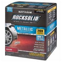RockSolid Polycuramine Metallic Flr Coating Cherry Bomb 70oz Kit (2-Pack 1 car garage kit) - 70 ounce each