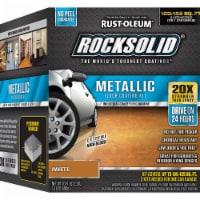 RockSolid Polycuramine Metallic Flr Coating Amaretto 70oz Kit (2-Pack/1 car garage kit) - 70 ounce each